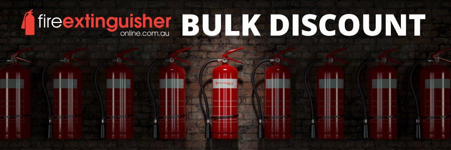 Bulk discount fire extinguishers